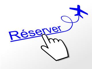 réservation des billets d'avion